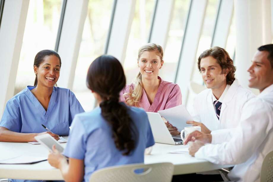 Employers are attracting and keeping registered nurses by offering administrative promotions, better work schedules and more exciting employment benefits. A nurse administrator's job includes leadership and supervision of other nurses, as well as recommending policy and structural changes. / iStockphoto