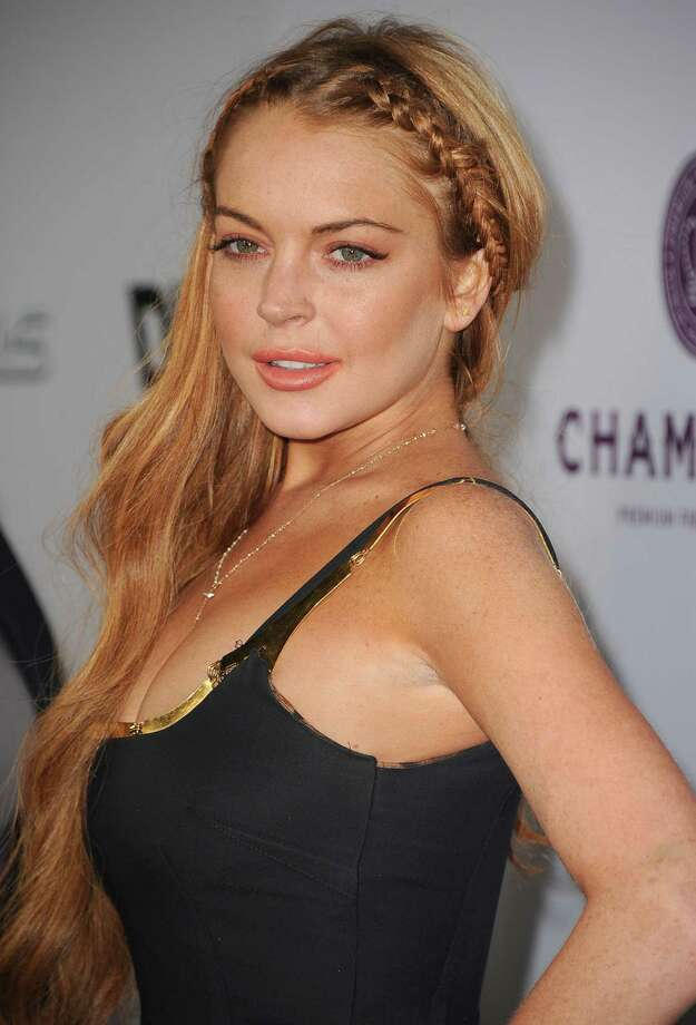 "Lindsay Lohan arrives at the ""Scary Movie V"" - Los Angeles Premiere at ArcLight Cinemas Cinerama Dome on April 11, 2013 in Hollywood, California.  (Photo by Steve Granitz/WireImage) Photo: Steve Granitz, Getty / 2013 Steve Granitz"