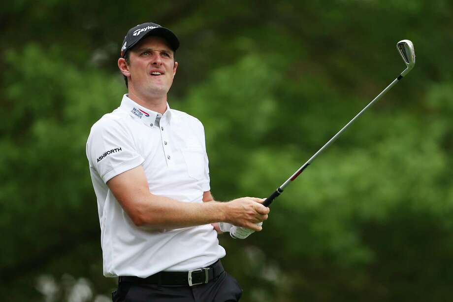 AUGUSTA, GA - APRIL 14:  Justin Rose of England tees off on the fourth hole during the final round of the 2013 Masters Tournament at Augusta National Golf Club on April 14, 2013 in Augusta, Georgia. Photo: Mike Ehrmann, Getty Images / 2013 Getty Images