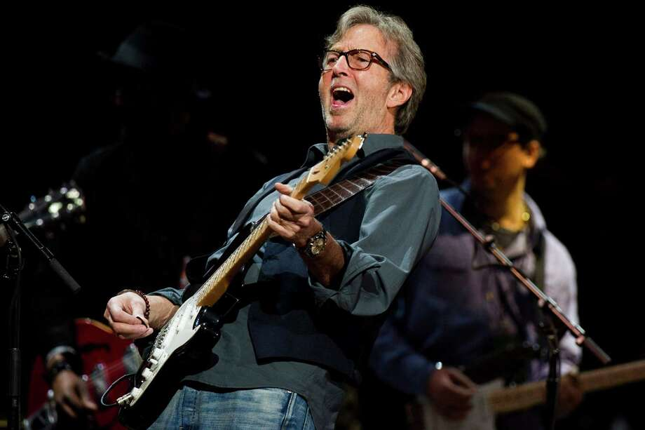 Eric Clapton performs at Eric Clapton's Crossroads Guitar Festival 2013 at Madison Square Garden on Sunday, April 14, 2013, in New York. (Photo by Charles Sykes/Invision/AP) Photo: Charles Sykes