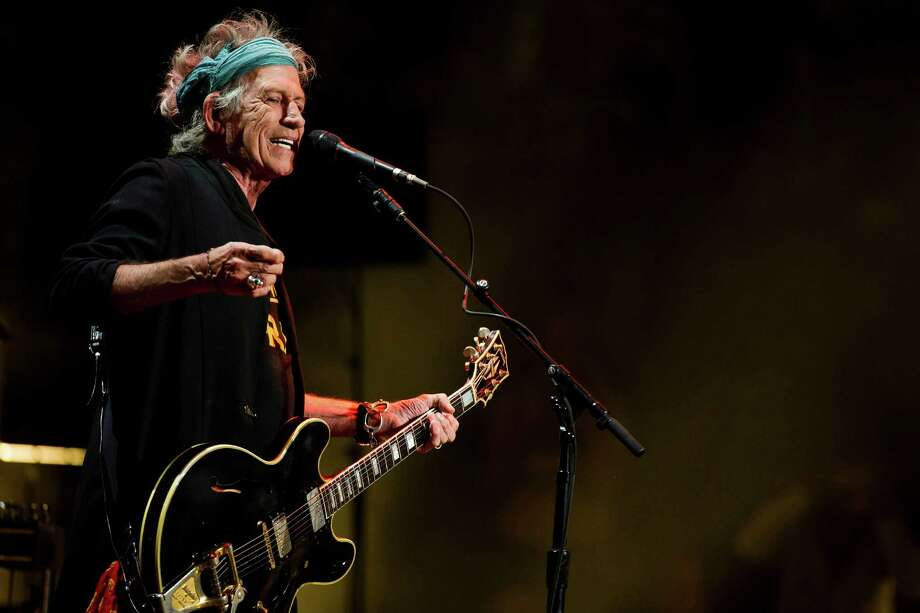 Keith Richards performs at Eric Clapton's Crossroads Guitar Festival 2013 at Madison Square Garden on Saturday, April 13, 2013, in New York. (Photo by Charles Sykes/Invision/AP) Photo: Charles Sykes