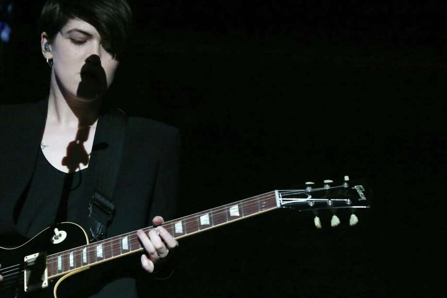 The xx performs on day 2 of weekend 1 at the 2013 Coachella Valley and Music Festival at the Empire Polo Club on Saturday, April 13, 2013 in Indio, California (Photo by Alexandra Wyman/Invision/AP) Photo: Alexandra Wyman, Associated Press / Invision
