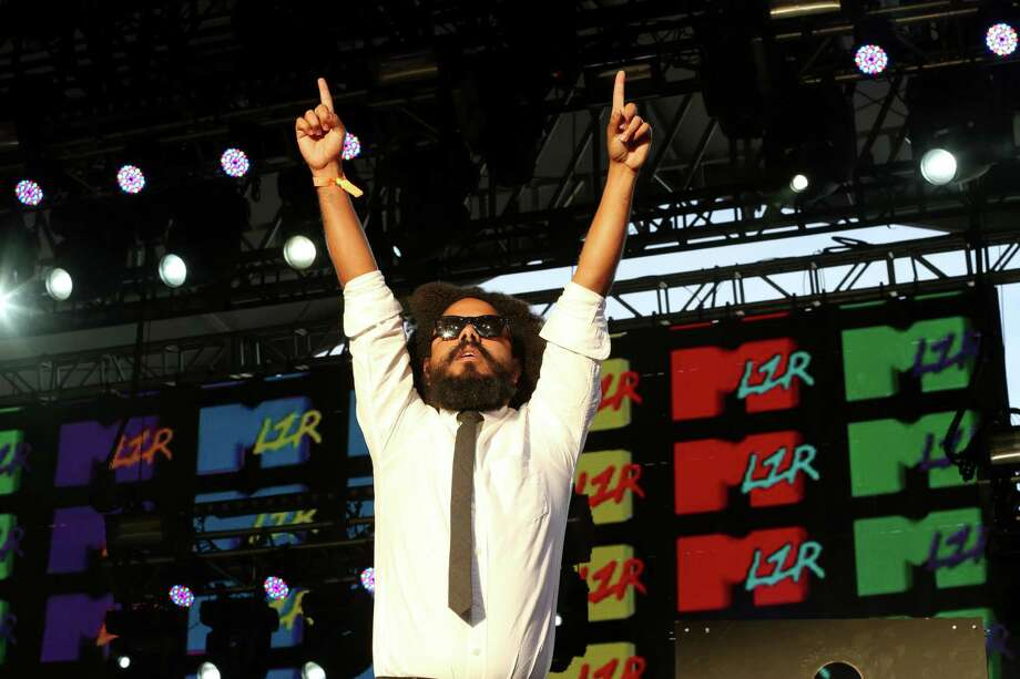 Major Lazer performs on day 2 of weekend 1 at the 2013 Coachella Valley and Music Festival at the Empire Polo Club on Saturday, April 13, 2013 in Indio, California (Photo by Alexandra Wyman/Invision/AP) Photo: Alexandra Wyman, Associated Press / Invision