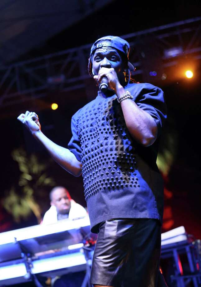 Rapper Pusha T performs onstage during day 2 of the 2013 Coachella Valley Music & Arts Festival at the Empire Polo Club on April 13, 2013 in Indio, California. Photo: Karl Walter, Getty Images / 2013 Getty Images