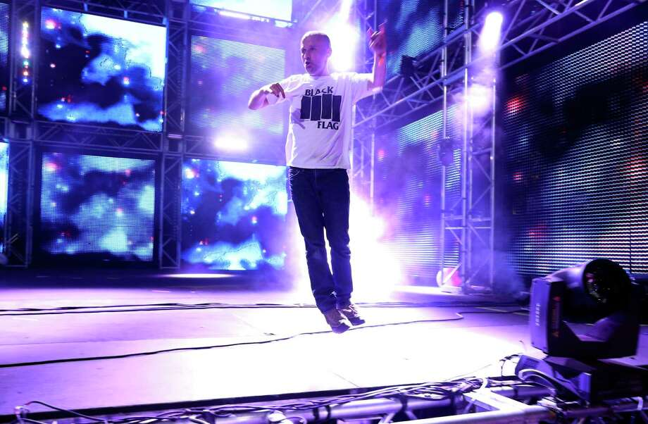 DJ Moby performs onstage during day 2 of the 2013 Coachella Valley Music & Arts Festival at the Empire Polo Club on April 13, 2013 in Indio, California. Photo: Christopher Polk, Getty Images / 2013 Getty Images