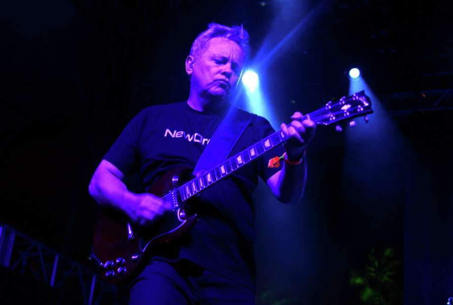 Musician Bernard Sumner of New Order performs onstage during day 2 of the 2013 Coachella Valley Music & Arts Festival at the Empire Polo Club on April 13, 2013 in Indio, California. Photo: Jason Kempin, Getty Images / 2013 Getty Images