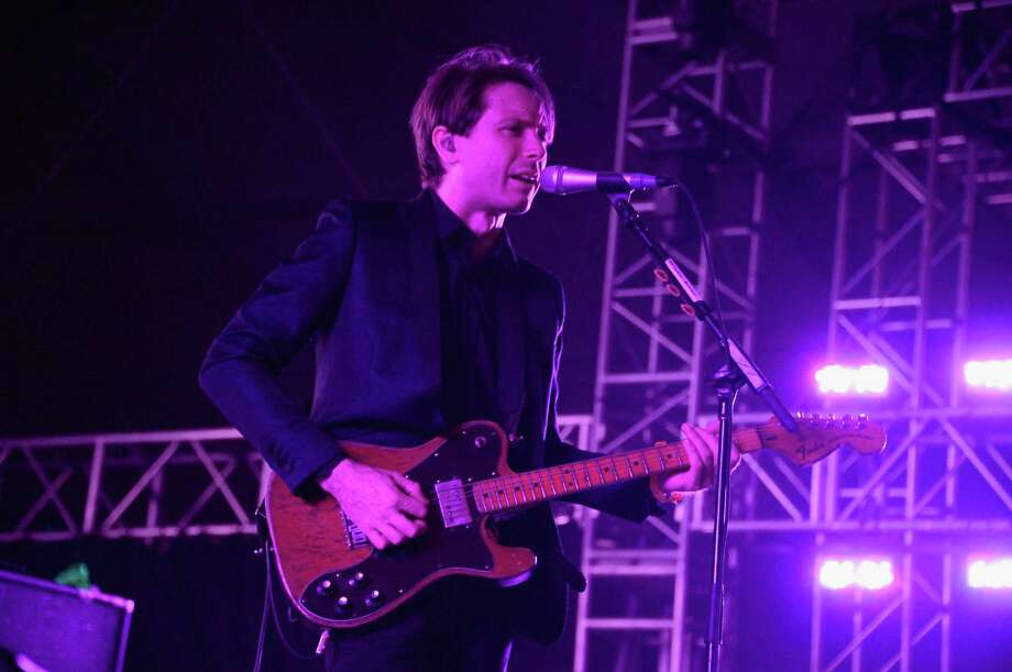 Musician Alex Kapranos of Franz Ferdinand performs onstage during day 2 of the 2013 Coachella Valley Music & Arts Festival at the Empire Polo Club on April 13, 2013 in Indio, California. Photo: Jason Kempin, Getty Images / 2013 Getty Images