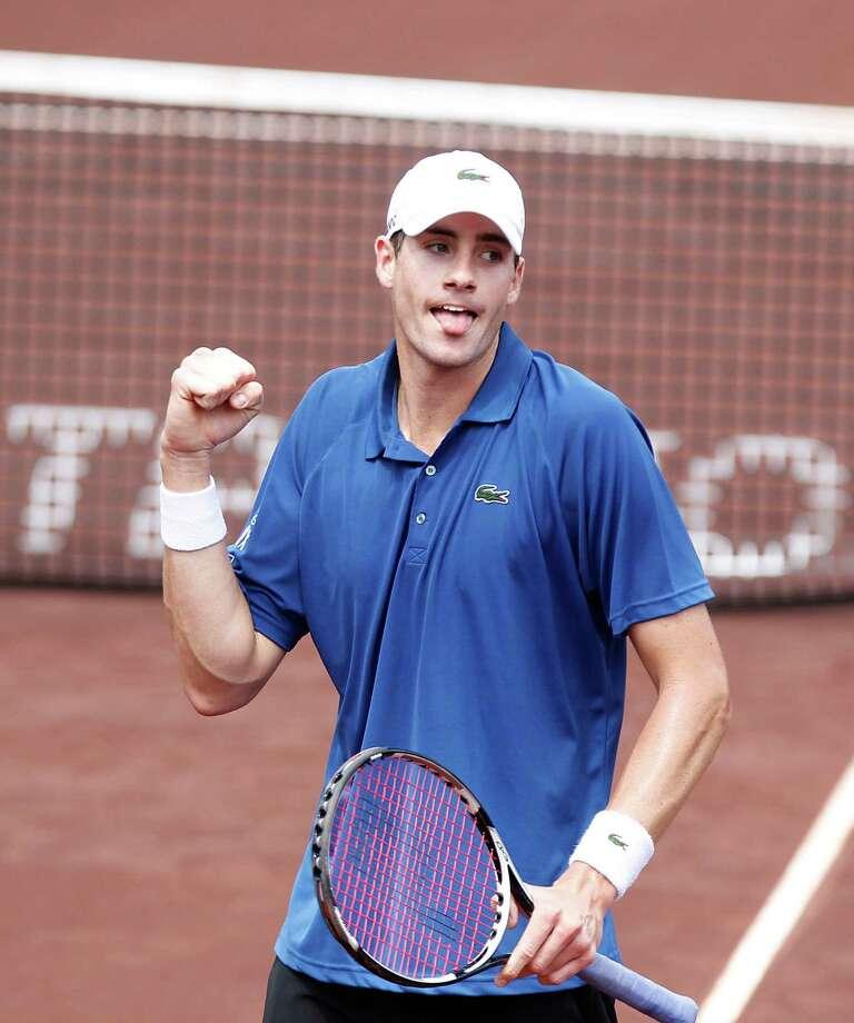 Tennis player John Isner Photo: Thomas B. Shea, For The Chronicle / © 2013 Thomas B. Shea