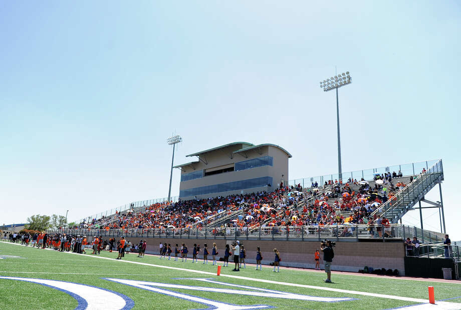 Farris Stadium during the UTSA football spring game, Sunday, April 14, 2013.  John Albright / Special to the Express-News. Photo: JOHN ALBRIGHT, Express-News / San Antonio Express-News
