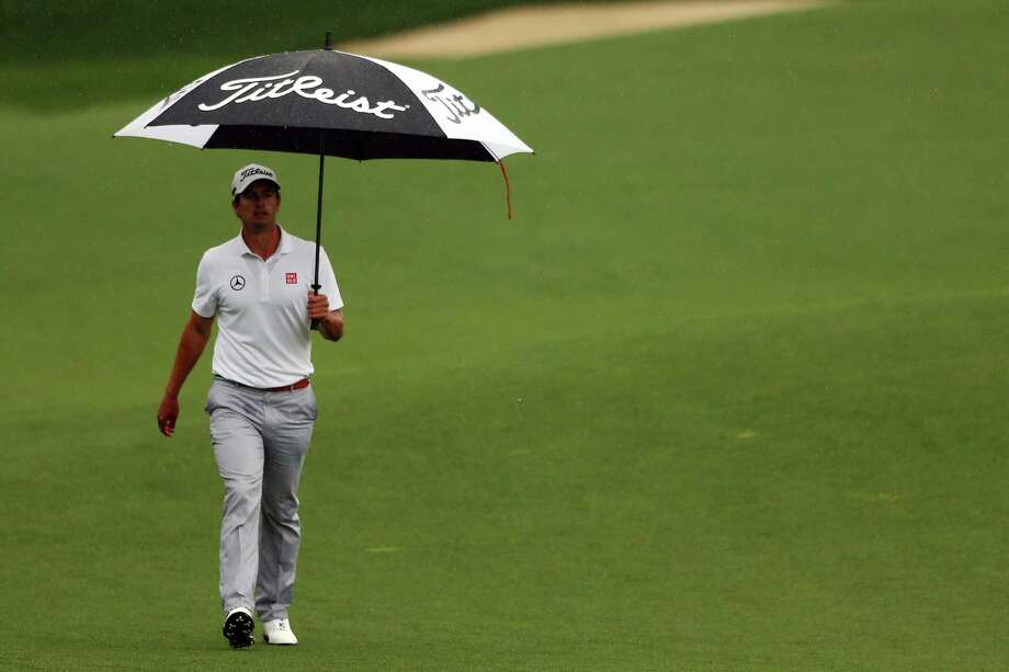 AUGUSTA, GA - APRIL 14:  Adam Scott of Australia walks up the 18th fairway during the final round of the 2013 Masters Tournament at Augusta National Golf Club on April 14, 2013 in Augusta, Georgia. Photo: Mike Ehrmann, Getty Images / 2013 Getty Images