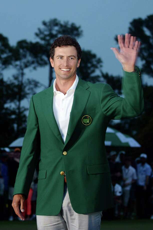 AUGUSTA, GA - APRIL 14:  Adam Scott of Australia smiles while wearing his green jacket after winning the 2013 Masters Tournament at Augusta National Golf Club on April 14, 2013 in Augusta, Georgia. Photo: Harry How, Getty Images / 2013 Getty Images