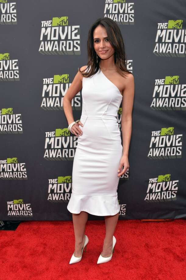 CULVER CITY, CA - APRIL 14:  Actress Jordana Brewster arrives at the 2013 MTV Movie Awards at Sony Pictures Studios on April 14, 2013 in Culver City, California.  (Photo by Alberto E. Rodriguez/Getty Images)
