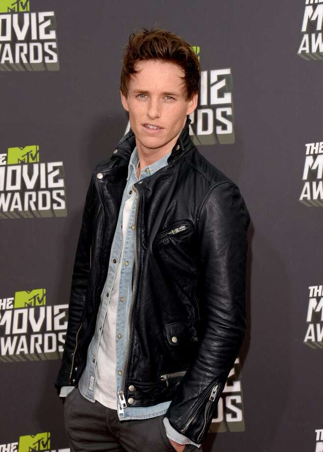 CULVER CITY, CA - APRIL 14:  Actor Eddie Redmayne arrives at the 2013 MTV Movie Awards at Sony Pictures Studios on April 14, 2013 in Culver City, California.  (Photo by Jason Merritt/Getty Images)