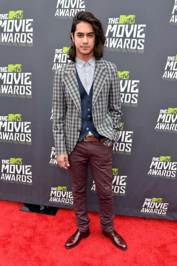 CULVER CITY, CA - APRIL 14:  Actor Avan Jogia arrives at the 2013 MTV Movie Awards at Sony Pictures Studios on April 14, 2013 in Culver City, California.  (Photo by Alberto E. Rodriguez/Getty Images)