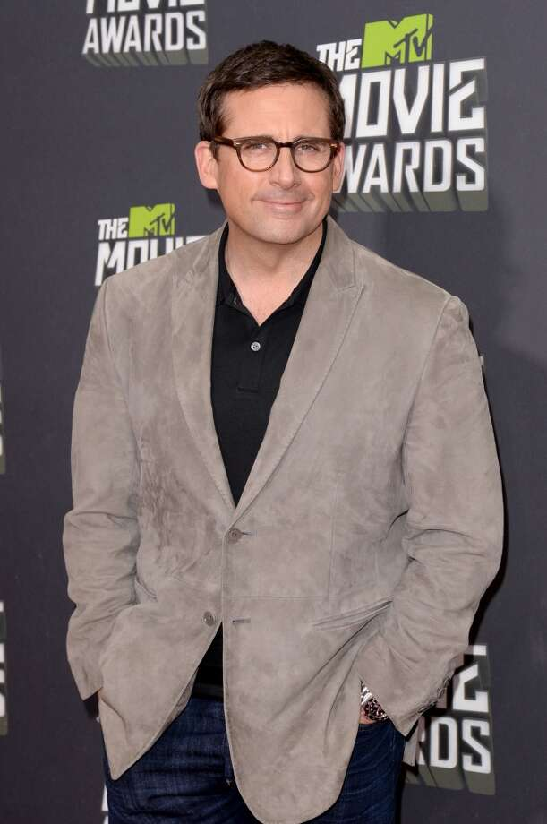 CULVER CITY, CA - APRIL 14:  Actor Steve Carell arrives at the 2013 MTV Movie Awards at Sony Pictures Studios on April 14, 2013 in Culver City, California.  (Photo by Jason Merritt/Getty Images)