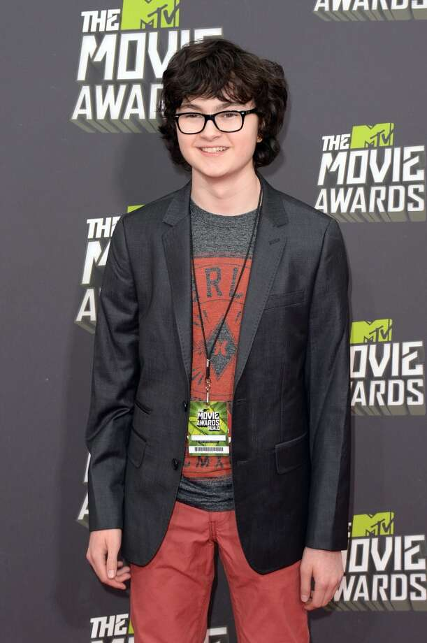 CULVER CITY, CA - APRIL 14:  Actor Jared Gilman arrives at the 2013 MTV Movie Awards at Sony Pictures Studios on April 14, 2013 in Culver City, California.  (Photo by Jason Merritt/Getty Images)