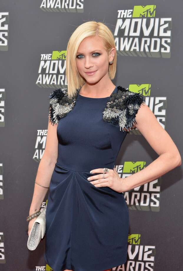 CULVER CITY, CA - APRIL 14:  Actress Brittany Snow arrives at the 2013 MTV Movie Awards at Sony Pictures Studios on April 14, 2013 in Culver City, California.  (Photo by Alberto E. Rodriguez/Getty Images)