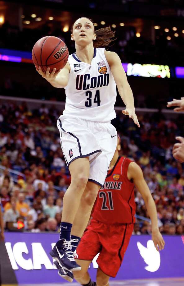 Fresh off a national title, UConn's Kelly Faris might be the Silver Stars' first pick. Photo: Chris Graythen / Getty Images