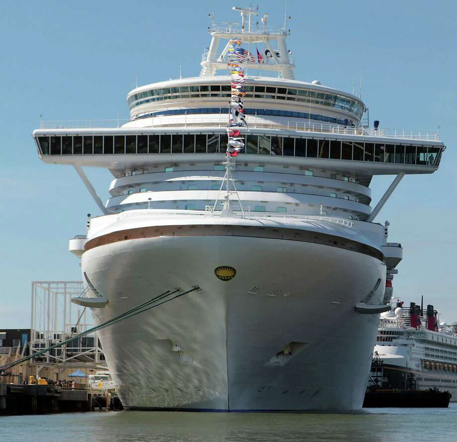 In December, 96 passengers aboard the Crown Princess cruise ship became ill  with gastroenteritis during a cruise to Italy. Photo: James Nielsen, Staff / © Houston Chronicle 2013