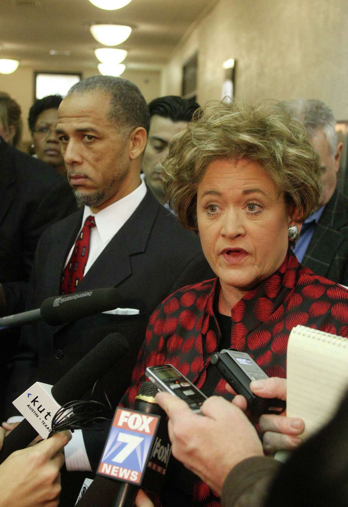 Travis County DA Rosemary Lehmberg apologized for the incident.