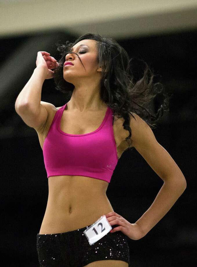 Over 180 hopeful women showed up for the first round of open Sea Gals auditions Sunday, April 14, 2013, at the CenturyLink Field Event Center in Seattle. Contestants were judged on dance ability, pizzazz and physical appearance. Nearly half of the attendees made the preliminary cut. Photo: JORDAN STEAD / SEATTLEPI.COM
