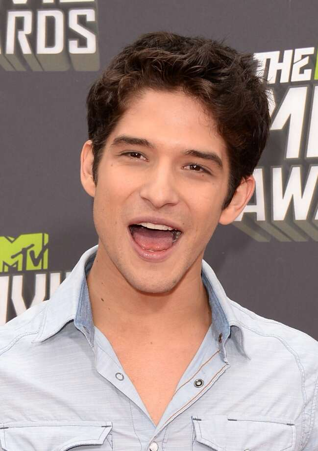 CULVER CITY, CA - APRIL 14:  Actor Tyler Posey arrives at the 2013 MTV Movie Awards at Sony Pictures Studios on April 14, 2013 in Culver City, California.  (Photo by Jason Merritt/Getty Images)
