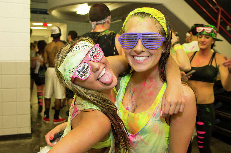 "Were you Seen at the Life in Color ""World's Largest Paint Party"" at the Times Union Center in Albany on Friday, April 12, 2013? Photo: Brian Tromans"