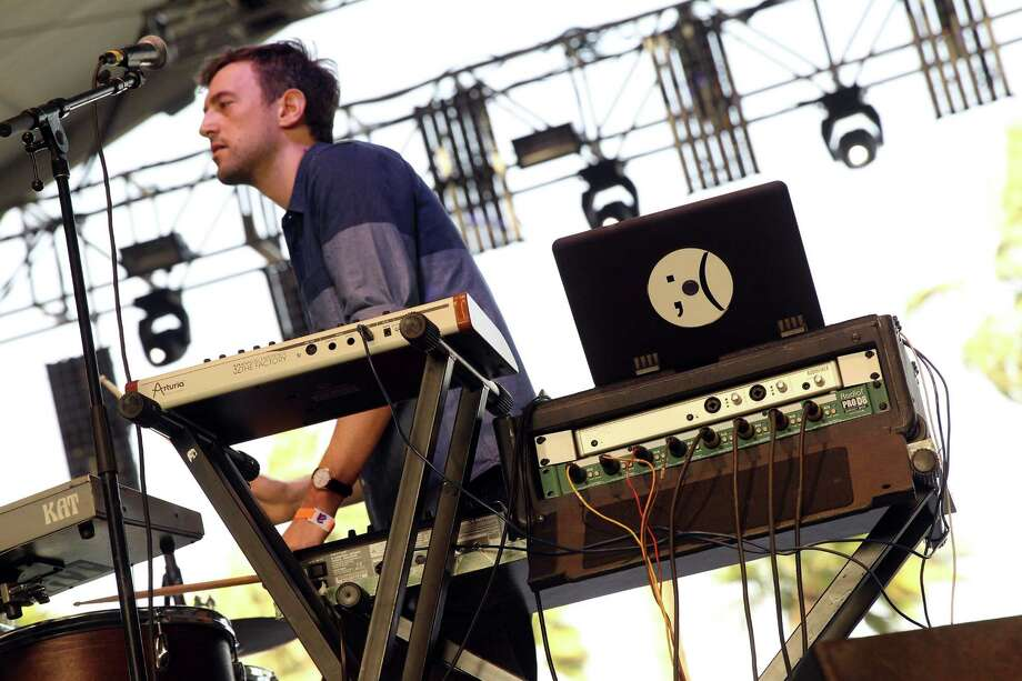 Musician Jesse Cohen of Tanlines performs onstage during day 3 of the 2013 Coachella Valley Music & Arts Festival at the Empire Polo Club on April 14, 2013 in Indio, California. Photo: Karl Walter, Getty Images / 2013 Getty Images