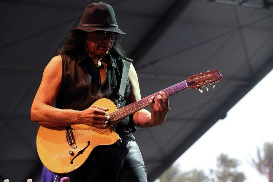 Musician Rodriguez performs onstage during day 3 of the 2013 Coachella Valley Music & Arts Festival at the Empire Polo Club on April 14, 2013 in Indio, California. Photo: Karl Walter, Getty Images / 2013 Getty Images