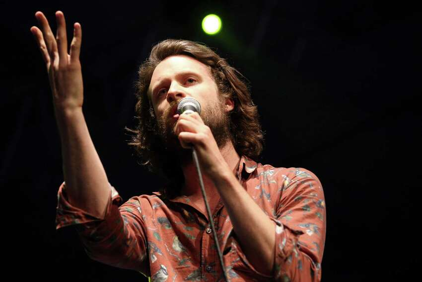 Musician J Tillman of Father John Misty performs onstage during day 3 of the 2013 Coachella Valley Music & Arts Festival at the Empire Polo Club on April 14, 2013 in Indio, California.