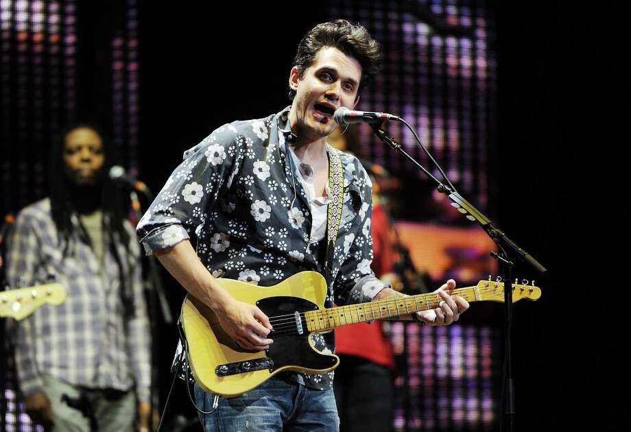 Musician John Mayer performs at Eric Clapton's Crossroads Guitar Festival 2013 at Madison Square Garden on Friday April 12, 2013 in New York. (Photo by Evan Agostini/Invision for Hard Rock International/AP Images) Photo: Evan Agostini, Evan Agostini/Invision/AP / Invision