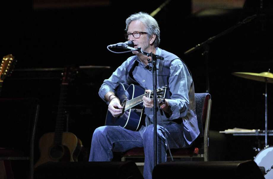 Musician Eric Clapton performs at Eric Clapton's Crossroads Guitar Festival 2013 at Madison Square Garden on Friday April 12, 2013 in New York. (Photo by Evan Agostini/Invision for Hard Rock International/AP Images) Photo: Evan Agostini, Evan Agostini/Invision/AP / Invision