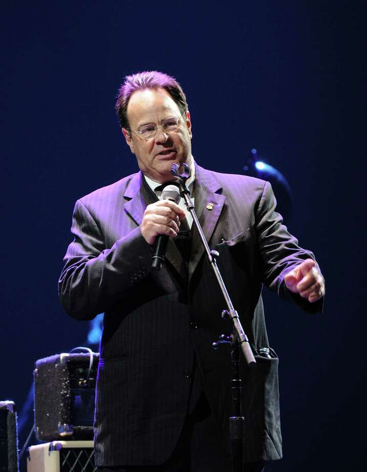 Actor and musician Dan Aykroyd serves as MC at Eric Clapton's Crossroads Guitar Festival 2013 at Madison Square Garden on Friday April 12, 2013 in New York. (Photo by Evan Agostini/Invision for Hard Rock International/AP Images) Photo: Evan Agostini, Evan Agostini/Invision/AP / Invision