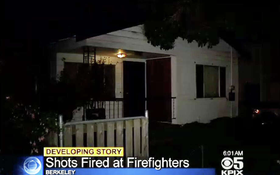A Berkeley firefighter was shot at by an 88-year old during a medical call. Photo: CBS San Francisco