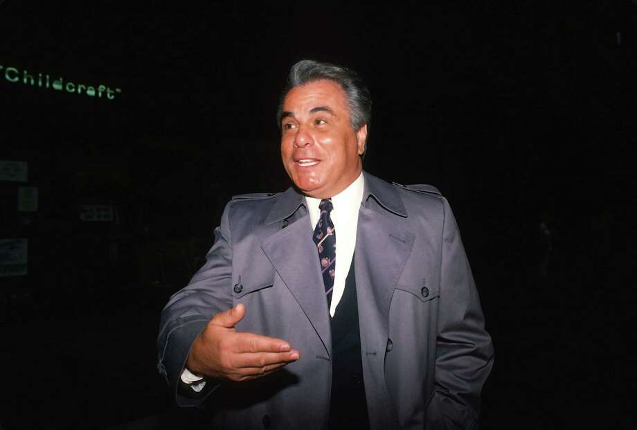 Unlike Capone, the IRS wasn't John Gotty's biggest problem when the feds raided the mob boss'club in 1990, charging him with racketeering, murder, attempted murder, loansharking and obstruction of justice, bribery and tax evasion. He was convicted two years later. Photo: Yvonne Hemsey, Getty Images / 1987 Yvonne Hemsey