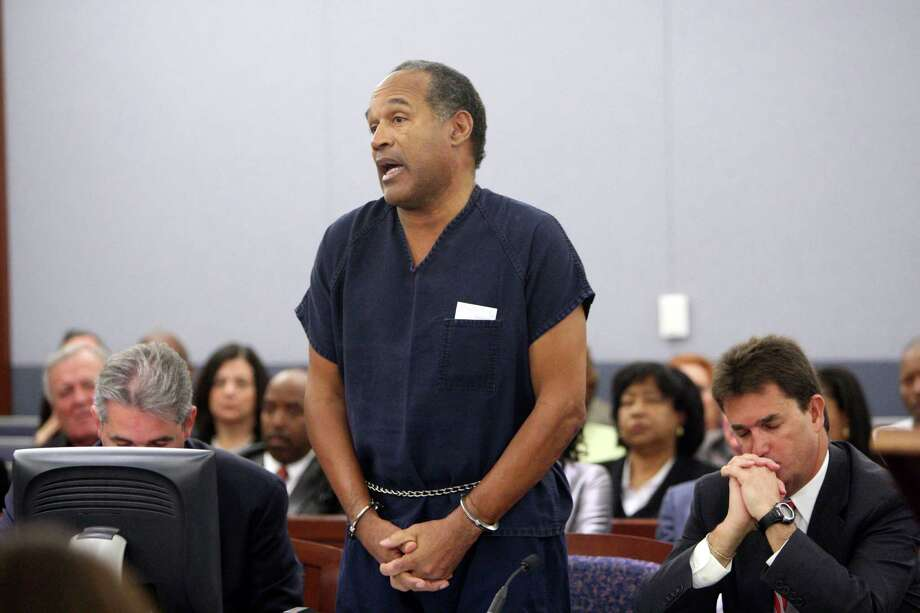 The State of California claims O.J. Simpson owed up to $1.44 million in back taxes, though this wasn't his biggest legal issue, obviously. Photo: Pool, Getty Images / 2008 Getty Images