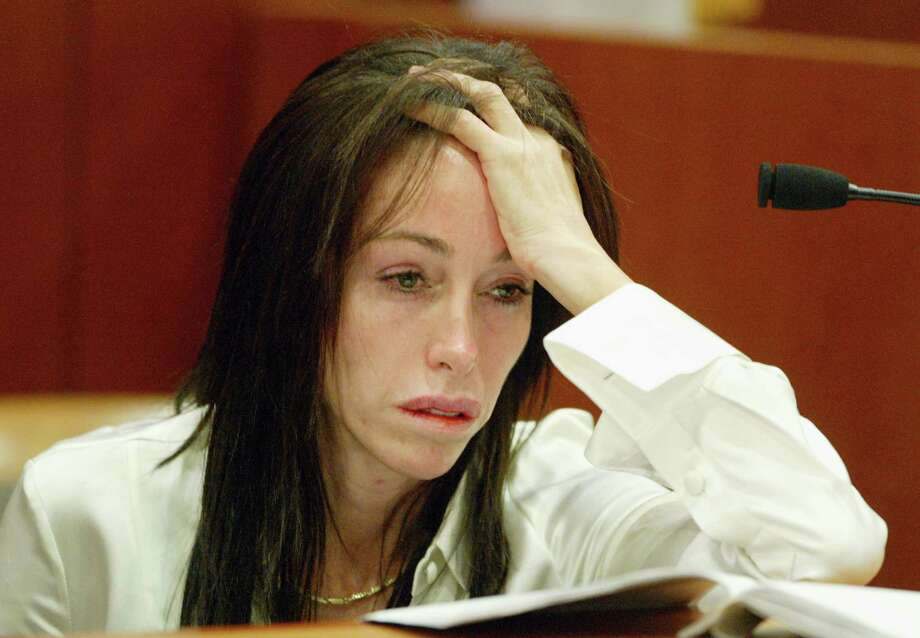"""""""Hollywood Madame"""" Heidi Fleiss was convicted of tax evasion in 1997, for which she received a seven-year sentence but served only two. Photo: Frazer Harrison, Getty Images / 2003 Getty Images"""