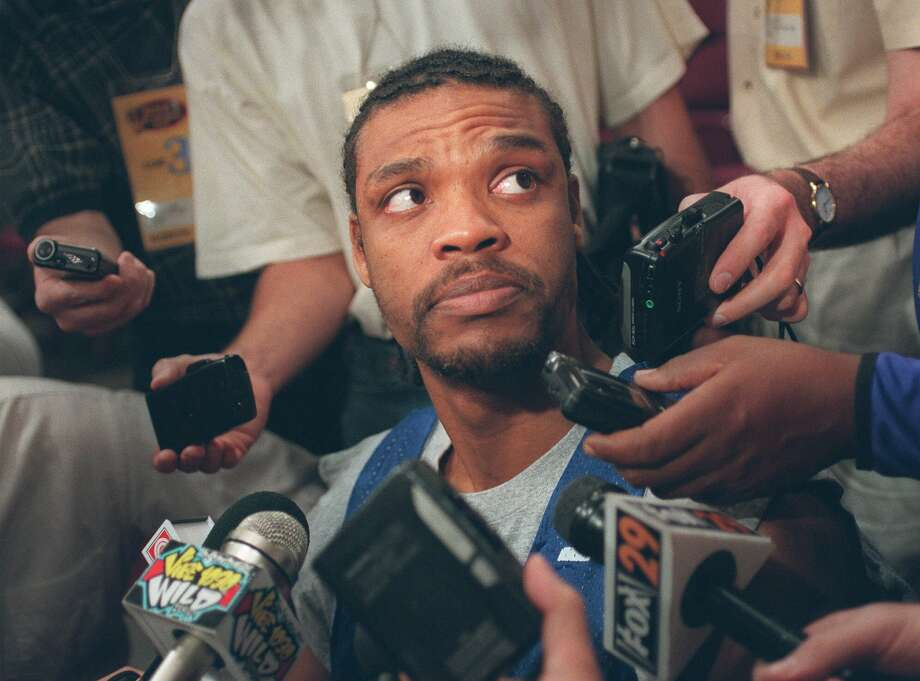 "The NBA player famously turned down a $21 million contract from the Timberwolves because he had a ""family to feed."" Not a good move. Sprewell ended up broke and, in sad boating news, accidentally grounded his yacht at one point. Photo: LYNSEY ADDARIO"