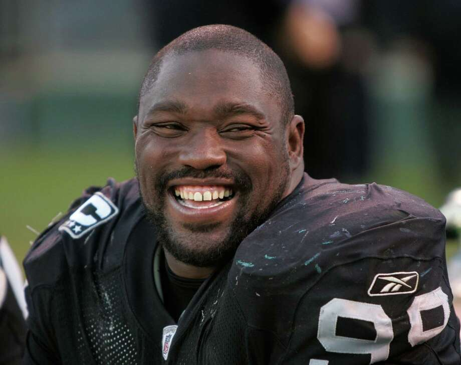 The former Raider owed $6.7 million to creditors in 2012 and has spent his millions on, among other things, 240 pairs of Jordan sneakers and sandals and a lion skin rug. Photo: Paul Sakuma, 2007, AP File / AP