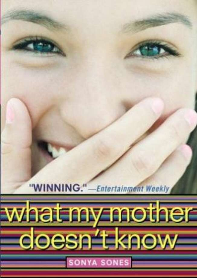 """What My Mother Doesn't Know"" by Sonya Sones – On the American Library Association's list of frequently challenged books, it ranked No. 8 in 2011, No. 7 in 2010, No. 7 in 2005 and No. 6 in 2004 – Some complained the book contains nudity, offensive language and sexually explicit content."