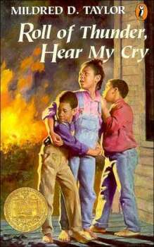 """Roll of Thunder, Hear My Cry"" by Mildred D. Taylor – On the American Library Association's list of frequently challenged books, it ranked No. 9 in 2002 – Some complained the book contained offensive language."