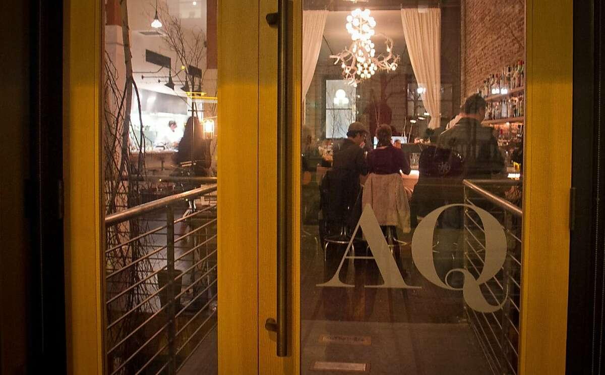 AQ Restaurant in San Francisco, Calif.