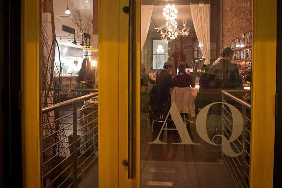 AQ Restaurant in San Francisco, Calif.