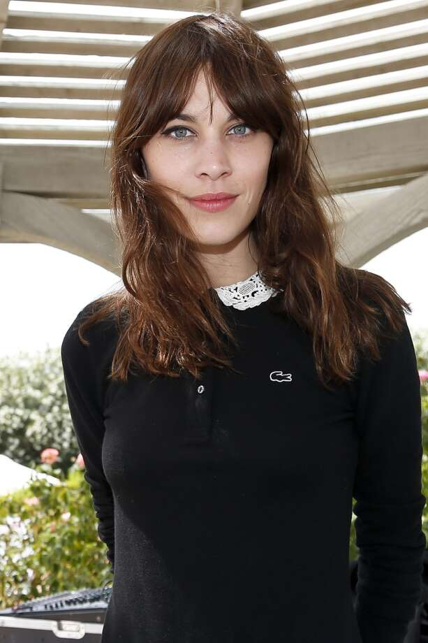 PALM SPRINGS, CA - APRIL 13:  Model Alexa Chung attends the FIJI Water At Lacoste L!VE Coachella Desert Pool Party on April 13, 2013 in Palm Springs, California.  (Photo by Imeh Akpanudosen/Getty Images for FIJI)