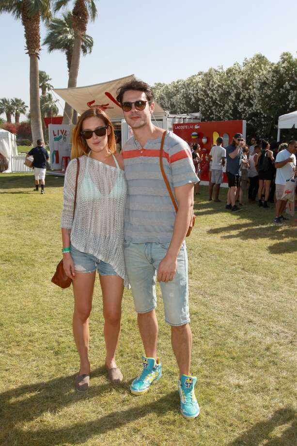 THERMAL, CA - APRIL 14:  Actors Rumer Willis (L) and Jayson Blair attend LACOSTE L!VE 4th Annual Desert Pool Party on April 14, 2013 in Thermal, California.  (Photo by Joe Scarnici/Getty Images for LACOSTE)