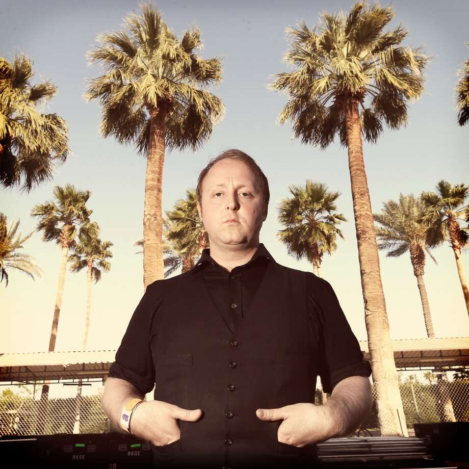 INDIO, CA - APRIL 12:  (EDITORS NOTE: THIS IMAGE HAS BEEN DIGITALLY MANIPULATED) Musician James McCartney poses backstage during day 1 of the 2013 Coachella Valley Music & Arts Festival at the Empire Polo Club on April 12, 2013 in Indio, California.  (Photo by Christopher Polk/Getty Images for Coachella)