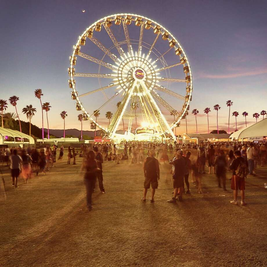 INDIO, CA - APRIL 13:  (EDITORS NOTE: THIS IMAGE HAS BEEN DIGITALLY MANIPULATED) General view of the atmosphere during day 2 of the 2013 Coachella Valley Music & Arts Festival at the Empire Polo Club on April 13, 2013 in Indio, California.  (Photo by Christopher Polk/Getty Images for Coachella)