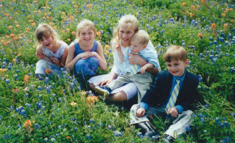 The Shomber family children in Montgomery. Photo: Reader Submission