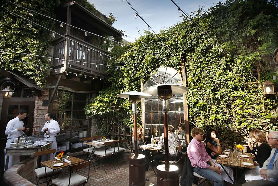 The patio is just one of the attractions at El Paseo in Mill Valley, which is already worthy of three stars. Photo: Craig Lee, Special To The Chronicle