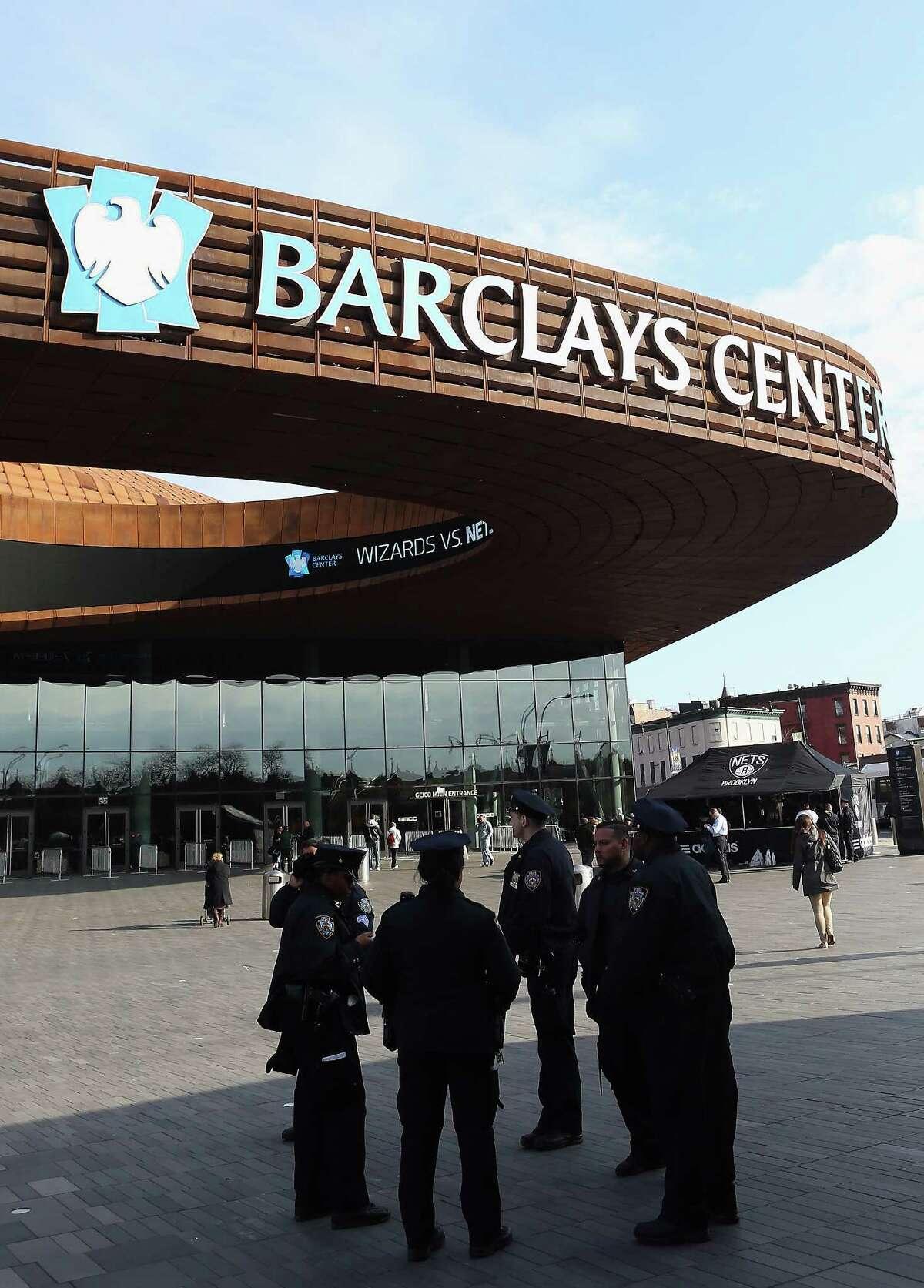 Barclays Center - Brooklyn Nets - $20 million per year.